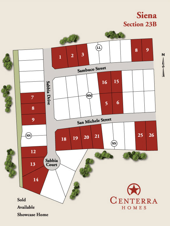New Homes For Sale In Round Rock Siena Centerra Homes